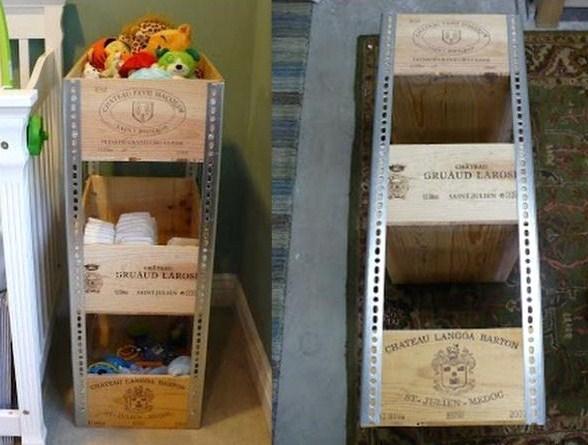 id es recyclages caisses de vin page 2. Black Bedroom Furniture Sets. Home Design Ideas