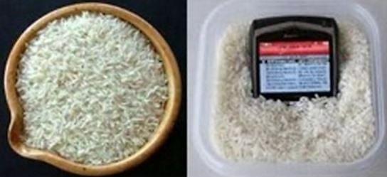 Trucs et astuces avec du riz