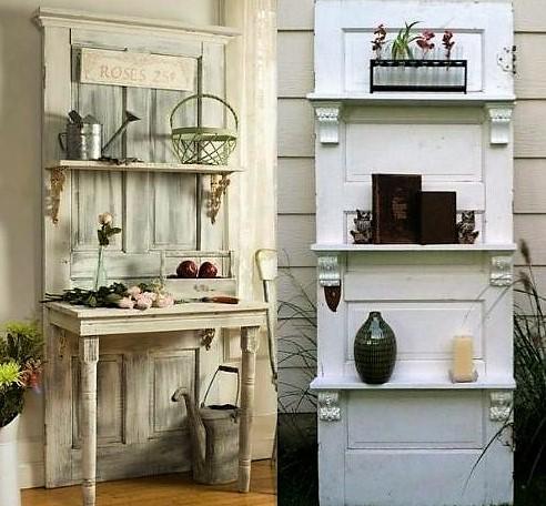 Id es pour recycler vos vieilles portes page 2 - Creer son ilot de cuisine ...