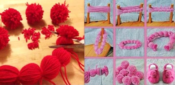 tutos et diy faire des pompons en laine page 2. Black Bedroom Furniture Sets. Home Design Ideas
