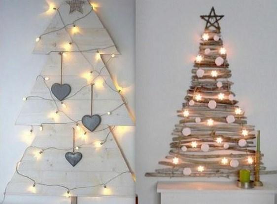 pour faire un sapin de Noël en bois