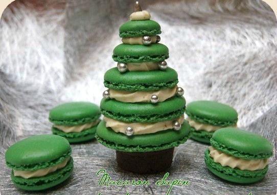 12 recettes macarons de Noël