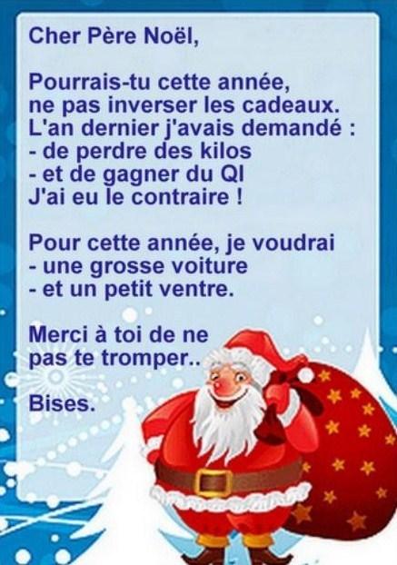 Image De Noel Drole.3 Lettres Droles Pour Le Pere Noel