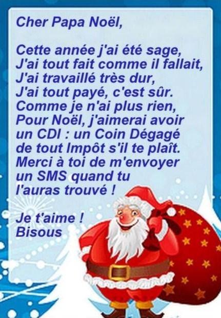 3 lettres dr les pour le p re no l - Image humoristique pere noel ...