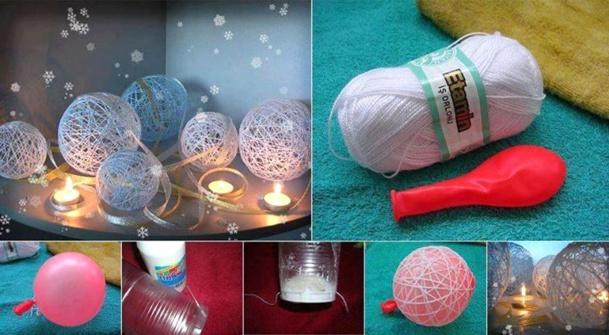 Comment faire une boule - Comment faire des boules de noel ...