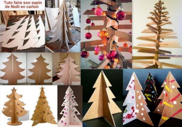 5 tutos de Noël spéciale récup : sapin, pompons, et flocons de Noël