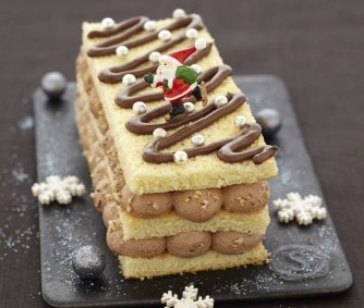 6 recettes revisitées de bûches de Noël