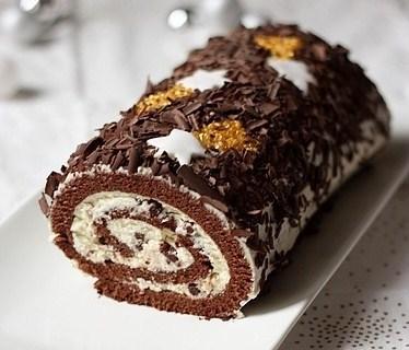 Recette buche chocolat mascarpone - Buche de noel facile et originale ...