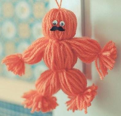 Tutos faire une poupée en laine