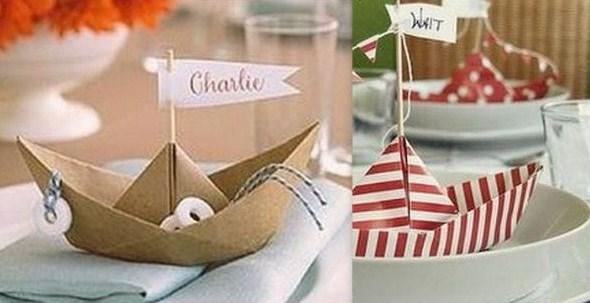 Porte-noms faciles à faire pour placer ses invités