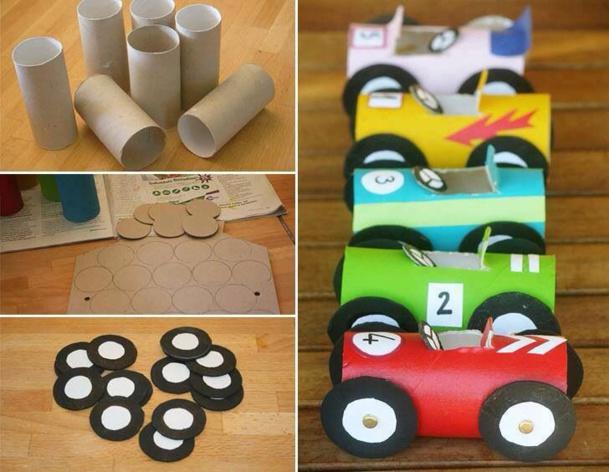 Des id es pour recycler vos rouleaux de papier toilette - Que faire avec des rouleaux de papier toilette ...
