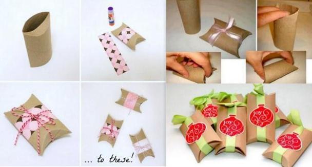 Des id es pour recycler vos rouleaux de papier toilette - Idee avec rouleau papier toilette ...