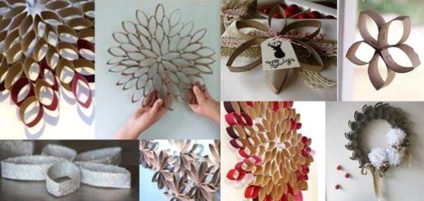 Des id es pour recycler vos rouleaux de papier toilette - Creation rouleau papier toilette ...