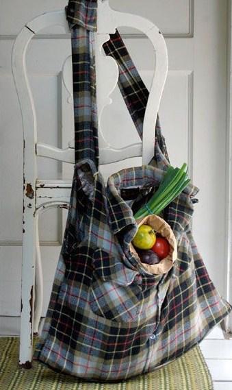 Recycler et transformer ses vieilles chemises