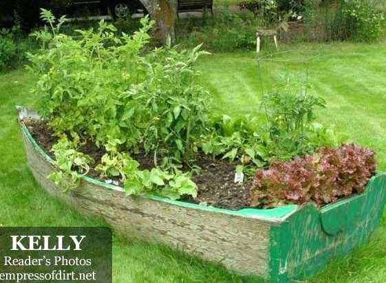 Faire un potager avec de la r cup - Comment faire son jardin paysager ...