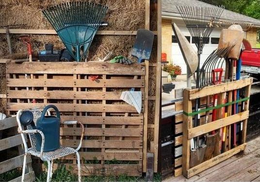 ses outils de jardin, des idées