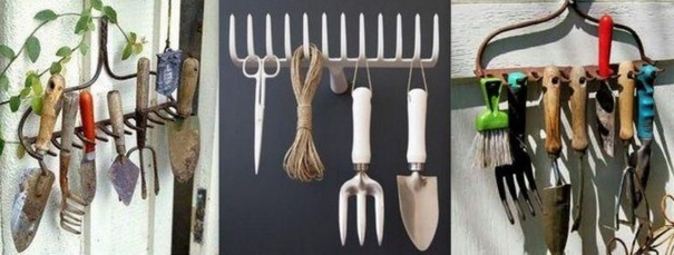 Ranger ses outils de jardin des id es for Outillage a main jardinage