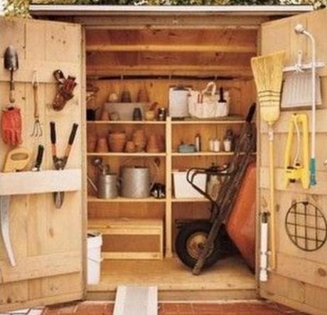 ranger ses outils de jardin des id es. Black Bedroom Furniture Sets. Home Design Ideas