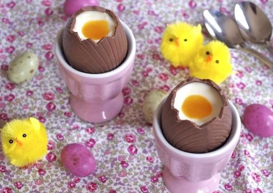 Recettes faire des oeufs de Pâques à la coque