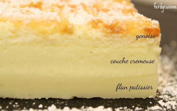 3 recettes du gâteau magique à la vanille