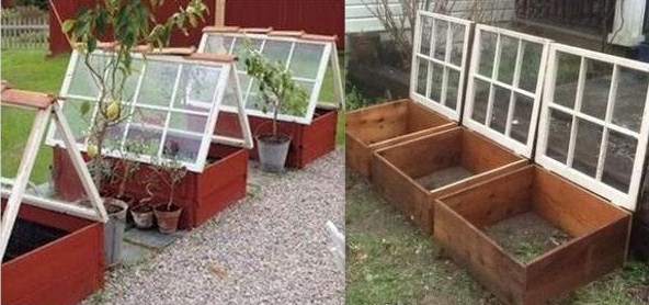 15 astuces pratiques et conomiques pour vous faciliter la vie au jardin for Faire une mini serre de jardin