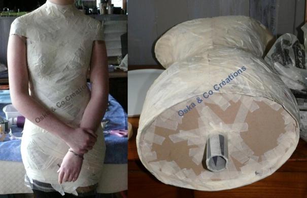 Faire son propre mannequin bustier couture, tutos maison