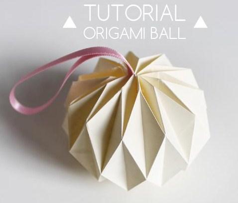 Faire des boules de no l diamant en papier les tutos - Comment faire des boules de noel ...