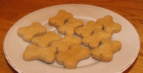 Recettes de biscuits pour chiens