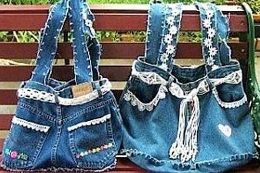 Tutoriel recycler son jean en jupe