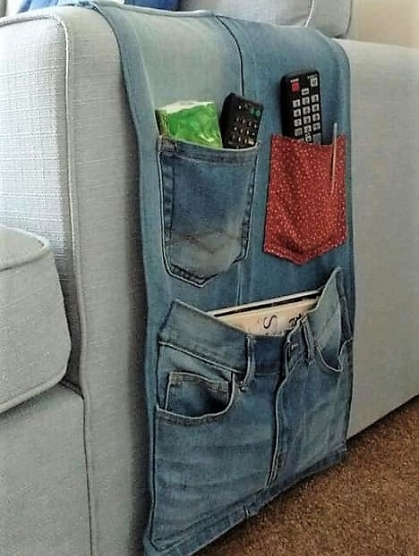 Faire un vide poche en jean, des idées, des modèles