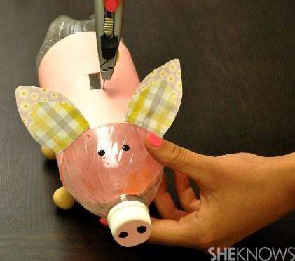 Tutoriels faire une tirelire cochon