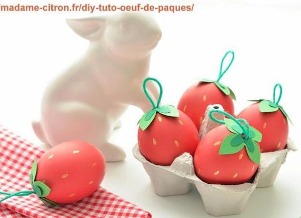 Tutoriel décorer des oeufs de Pâques