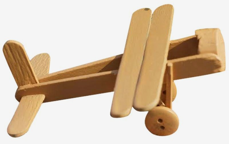 Fabriquer de petits avions avec de la récup, les tutos