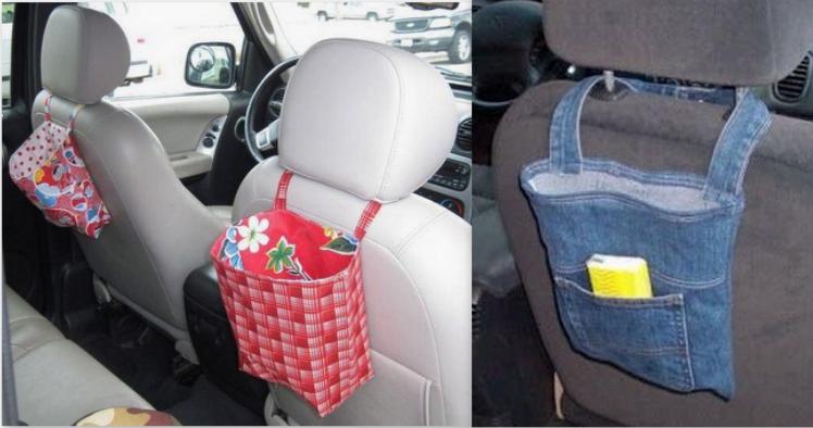 Faire un vide poche pour voiture, modèles et tutos