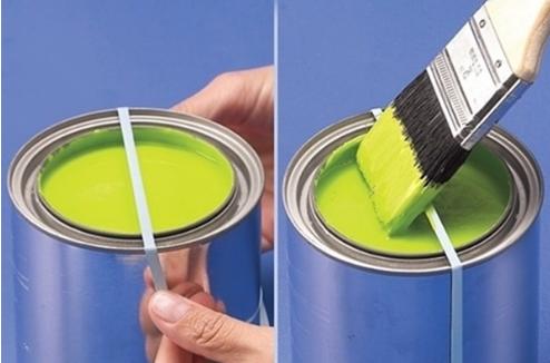 Astuces peinture et pinceaux