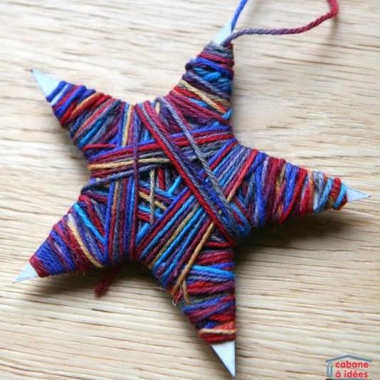 Faire une étoile de Noël, des modèles, des tutos