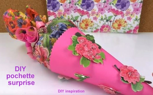 Tutos DIY : pochettes surprises