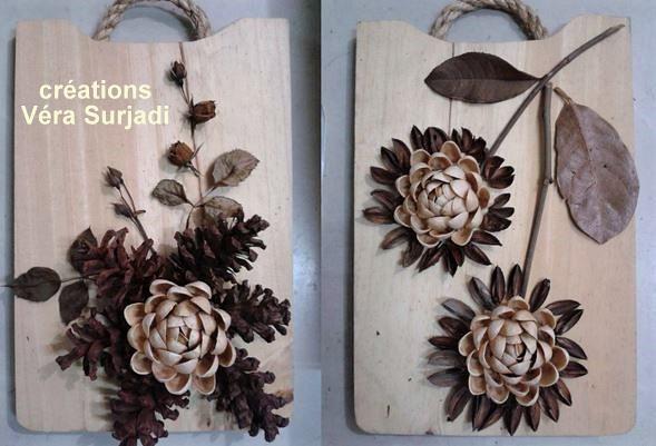 Idées créations en coques de pistaches