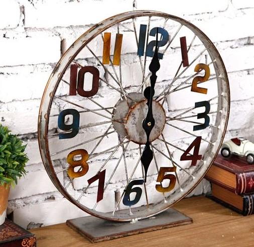 Idées recycler des roues de vélo