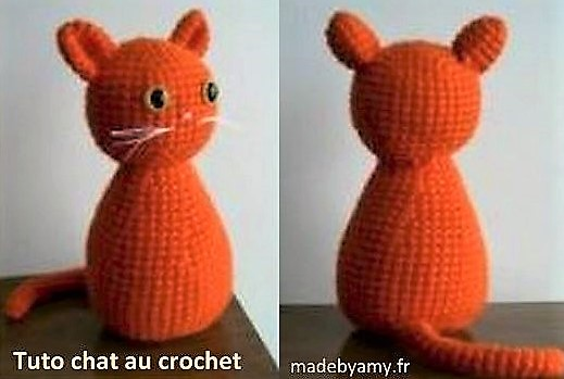 Tutos faire un chat boule au crochet, des modèles