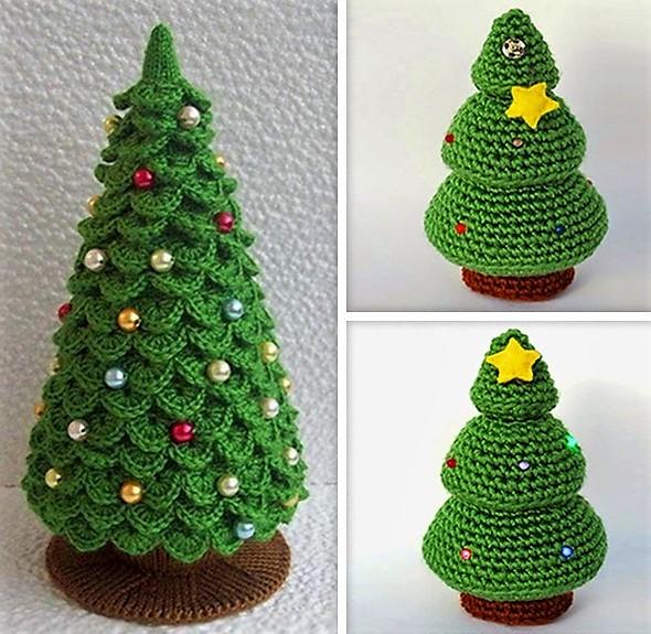 Petits sapins de Noël originaux