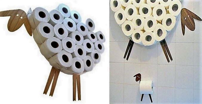 Distributeurs papier toilette originaux