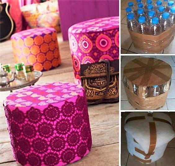 fabriquer des poufs fabriquer son pouf pour comment faire un pouf carre fabriquer un pouf en. Black Bedroom Furniture Sets. Home Design Ideas