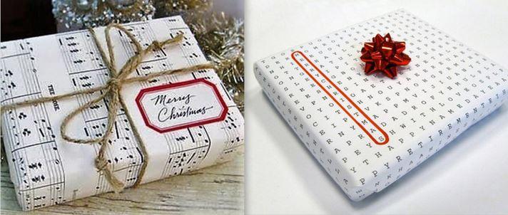 Idées originales de paquets cadeaux..
