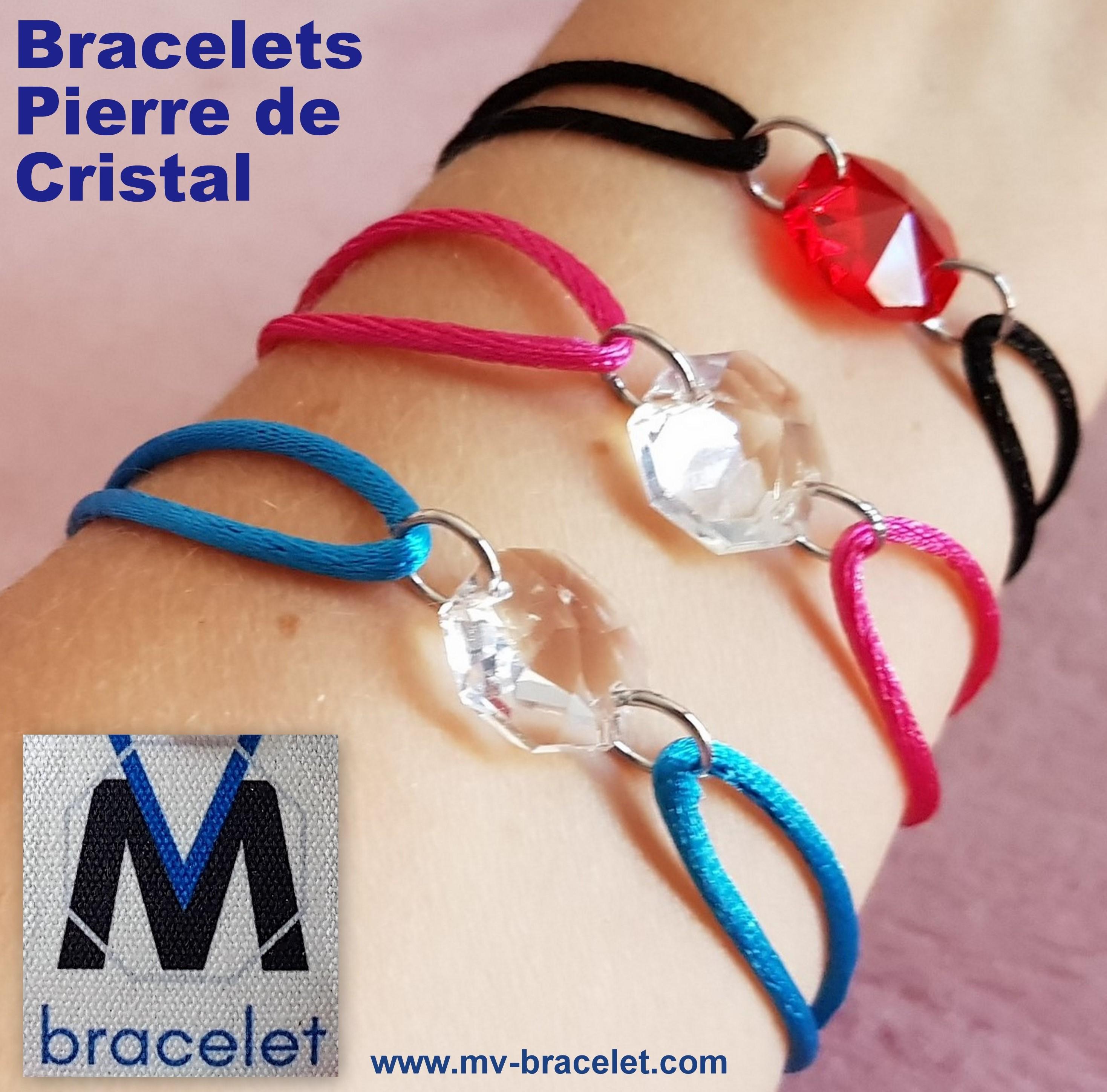 MV Bracelet - Pierre de Cristal