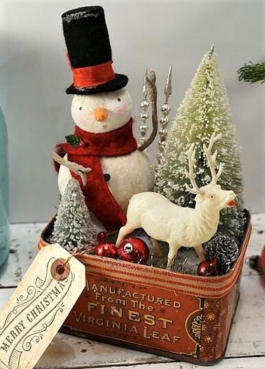 Décorations boîtes de Noël !
