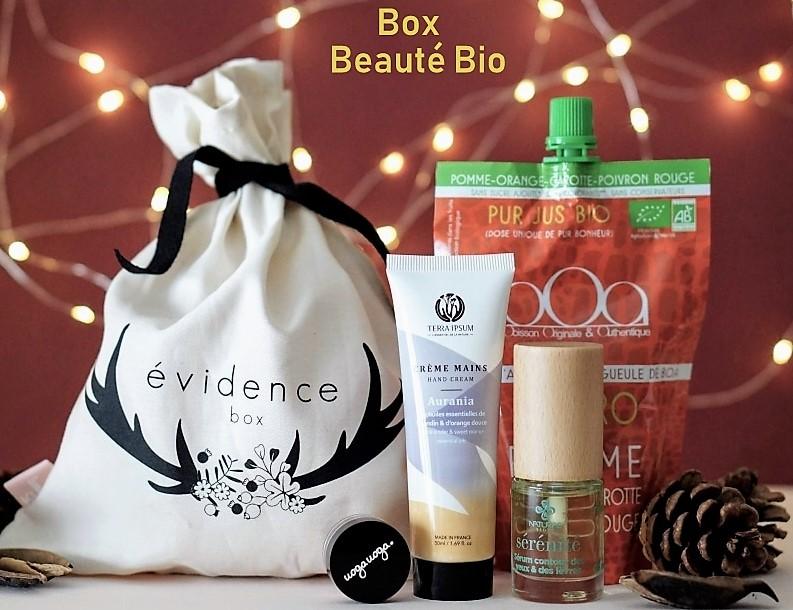 La Box Beauté Bio du mois de novembre pour se chouchouter