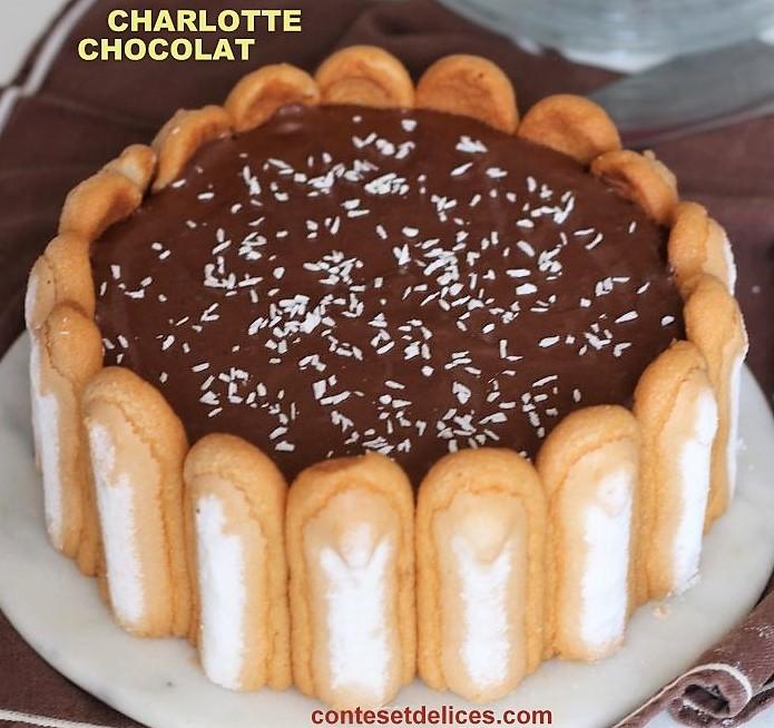 3 Recettes de Charlotte : citron, chocolat, pommes