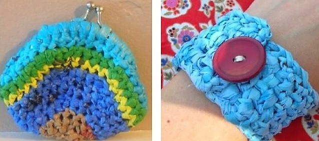 Recyclez vos sacs plastique : faites de jolies créations !