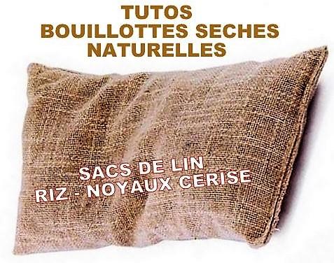 Faire une bouillotte sèche 100 % naturelle, des Tutos